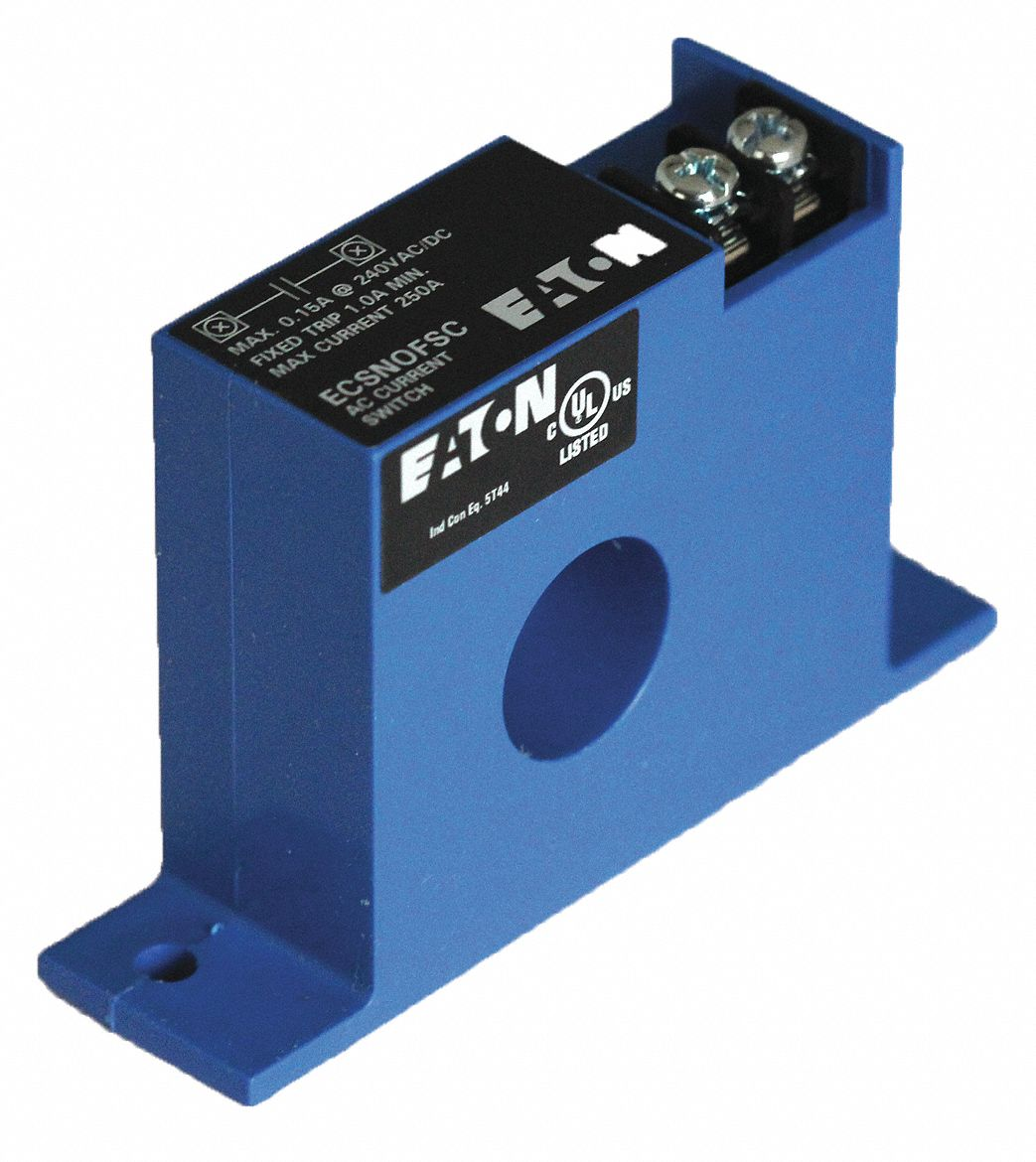 EATON Current Sensing Relay, Self Powered, 0.15A @ 240V, 0.15A ...