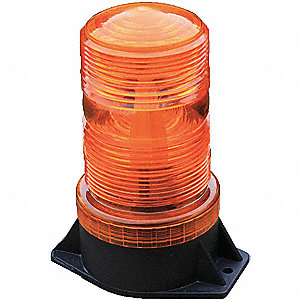 Warning Strobe,Amber,LED,12 to 90VDC