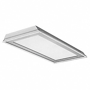 Recessed Troffer, LED Replacement For 3 Lamp LFL, 3500K, Lumens 4242, Fixture Rated Life 50,000 hr.