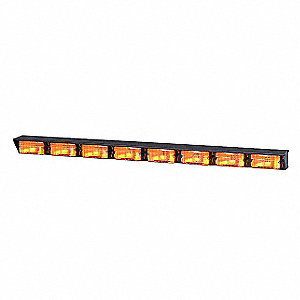 Amber, Halogen Directional Light, 12VDC, Permament Mounting, Length 42""