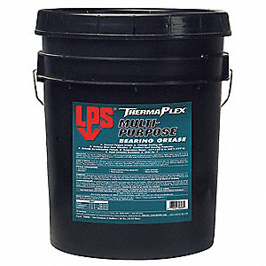 LPS ThermaPlex Blue Lithium Complex Multipurpose Bearing Grease, 35 lb., NLGI Grade: 2