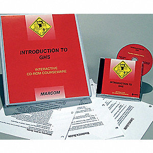 GHS Training CD-Rom,Chemical/Hazmat