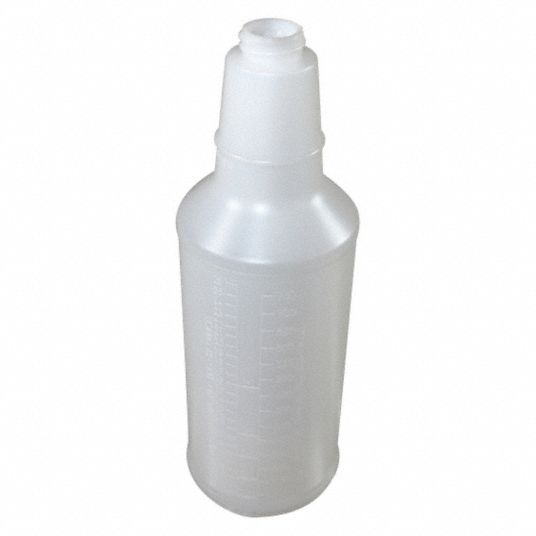 Clear Polyethylene Bottle, 32 oz, 1 EA
