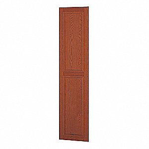End Panel,Medium Oak,72 in. H x 18 in. W