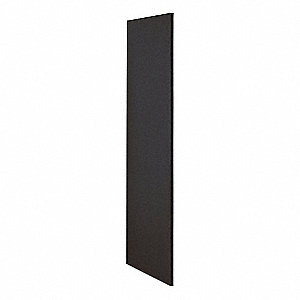 End Panel,Black,72inH x 24inW x 3/4inD