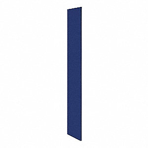 End Panel,Blue,72inH x 18inW x 1/2inD