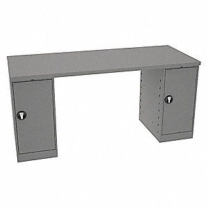 "Workbench,Steel,72"" W,30"" D"
