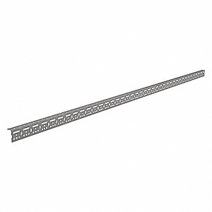 "120"" x 2-3/8"" 14 Gauge Steel Slotted Angle"