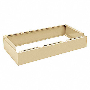 Assembled Locker Base, 15in.D, Sand