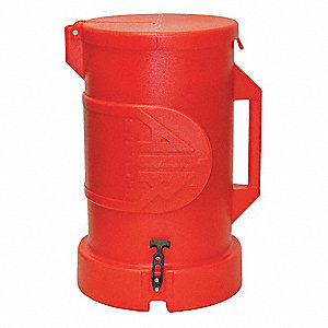"Duct Carrier,  50 ft. Length,  Polyethylene,  For Use With 12"" Duct,  Orange"