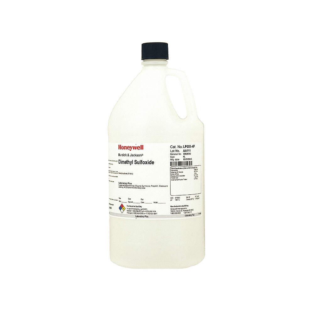 Dimethyl Sulfoxide, 4L, ACS GRD, CH32SO, PK4