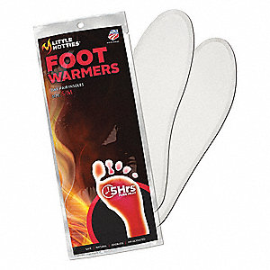 Foot Warmer, Up to 5 hr. Heating Time, Activates By Contact with Air
