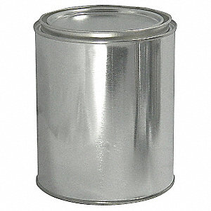 Paint Can, 1 qt., Round, PK56