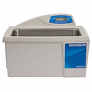 Ultrasonic Cleaner, CPXH Type, Tank Capacity: 5.5 gal., Timer Range: 0 to 99 min., Continuous Run
