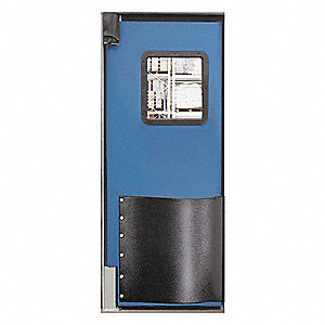 Swinging Door,8 x 3 ft,Cadet Blue