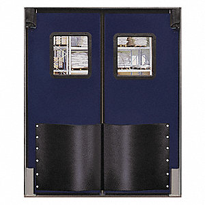 Swinging Door,7 x 6 ft,Navy Blue,PR