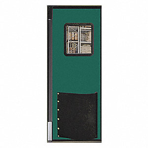 Swinging Door,8 x 3 ft,Jade,Polyethylene