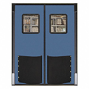 Swinging Door,8 x 5 ft,Cadet Blue,PR