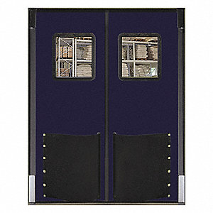 Swinging Door,8 x 8 ft,Navy Blue,PR