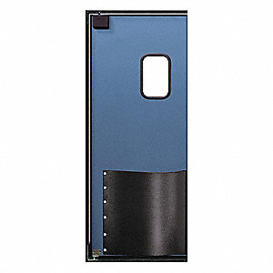 ABS Swinging Door, Cadet Blue&#x3b; Number of Doors: 1, 3 ft.W x 8 ft.H