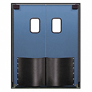 Swinging Door,8 x 8 ft,Cadet Blue,PR