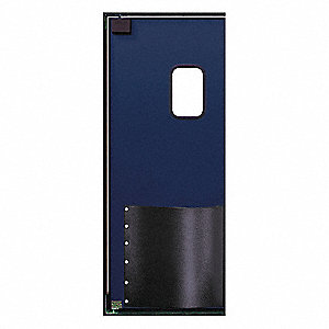 "ABS Swinging Door, Navy Blue; Number of Doors: 1, 2 ft. 6""W x 7 ft.H"
