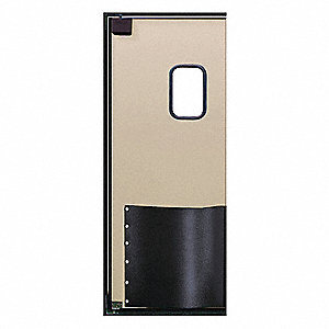 ABS Swinging Door, Beige; Number of Doors: 1, 3 ft.W x 7 ft.H