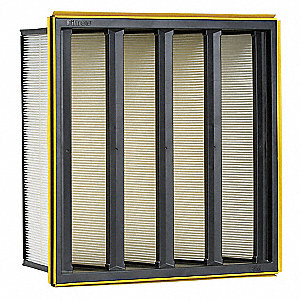 12x24x12 Synthetic V-Bank Air Filter with MERVA15/16
