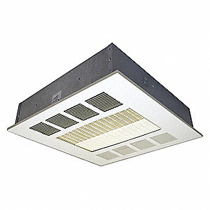 Electric Ceiling Heater,277V,4K Watts