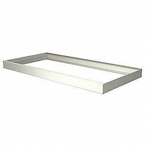 Mounting Frame,Surface,48 In.L,24 In.W