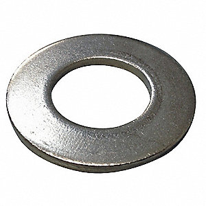 "3/4"" x 1-15/32"" O.D., SAE Type A Narrow Flat Washer, Steel, Low Carbon, Zinc Plated, PK10"