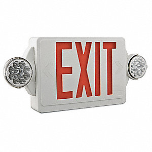 FIDO Combo Exit Unit,LED,Red