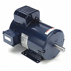 7-1/2 HP Commercial Duty Air Compressor Motor,Capacitor-Start/Run,3515 Nameplate RPM,208-230 Voltage