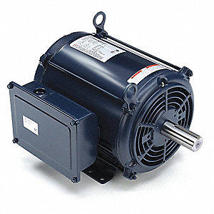 7-1/2 HP Commercial Duty Air Compressor Motor,Capacitor-Start,3470 Nameplate RPM,208-230 Voltage