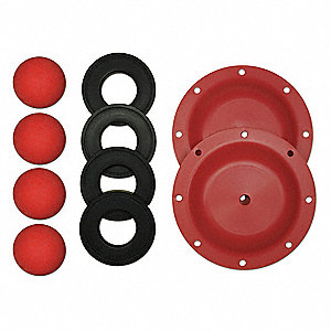 "Pump Repair Kit for 15U527 for S20B1A1EANS000 for 2"" Metallic Pump"