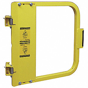 Safety Gate,22-3/4 to 26-1/2 In,Steel
