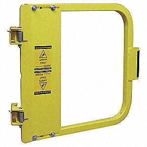 Safety Gate,31-3/4 to 35-1/2 In,Steel