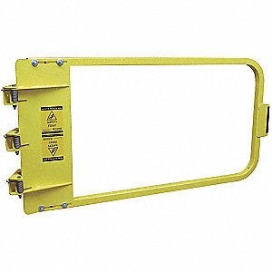 Safety Gate,38-3/4 to 42-1/2 In,Steel