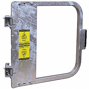 Safety Gate,16-3/4 to 20-1/2 In,Steel