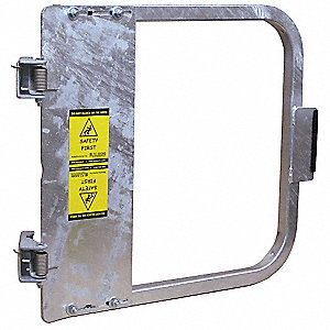 Safety Gate,25-3/4 to 29-1/2 In,Steel
