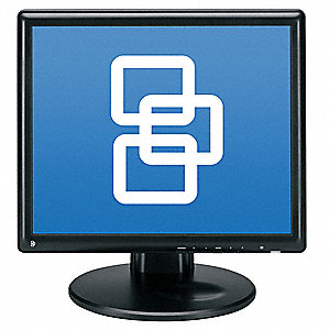 LCD Color Monitor,17 in.,Black