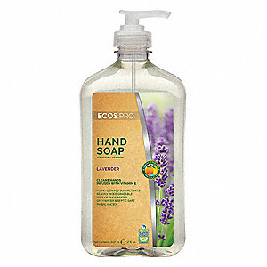 Liquid Hand Soap,17 oz.,Lavender