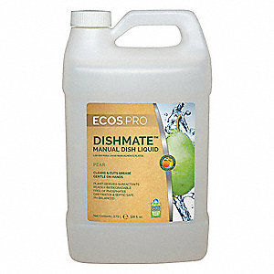 Manual Dishwashing Liquid,1 gal.,Pear