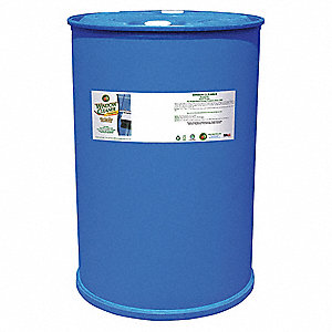 Glass Cleaner,55 gal.,Citrus,Clear