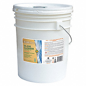 5 gal. Glass Cleaner, 1 EA