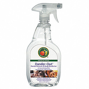 Dander Remover, 22 oz. Trigger Spray Bottle, 1 EA