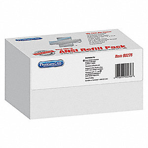 First Aid Kit Refill,Unitized,103Pcs