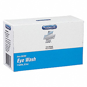 0.5 oz. Personal Eye Wash Bottle, For Use With First Aid Kits or Toolboxes