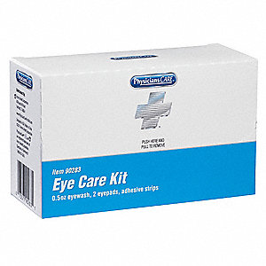 Eye Care Kit,Bulk,White,5 Pcs,1 Person