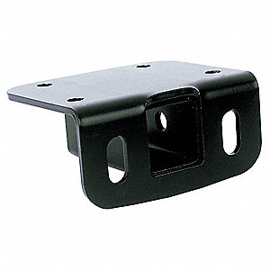 Class III Step Bumper Receiver with Metal Shield ® Black Coating Finish and 3500 Capacity GVW (Lb.)